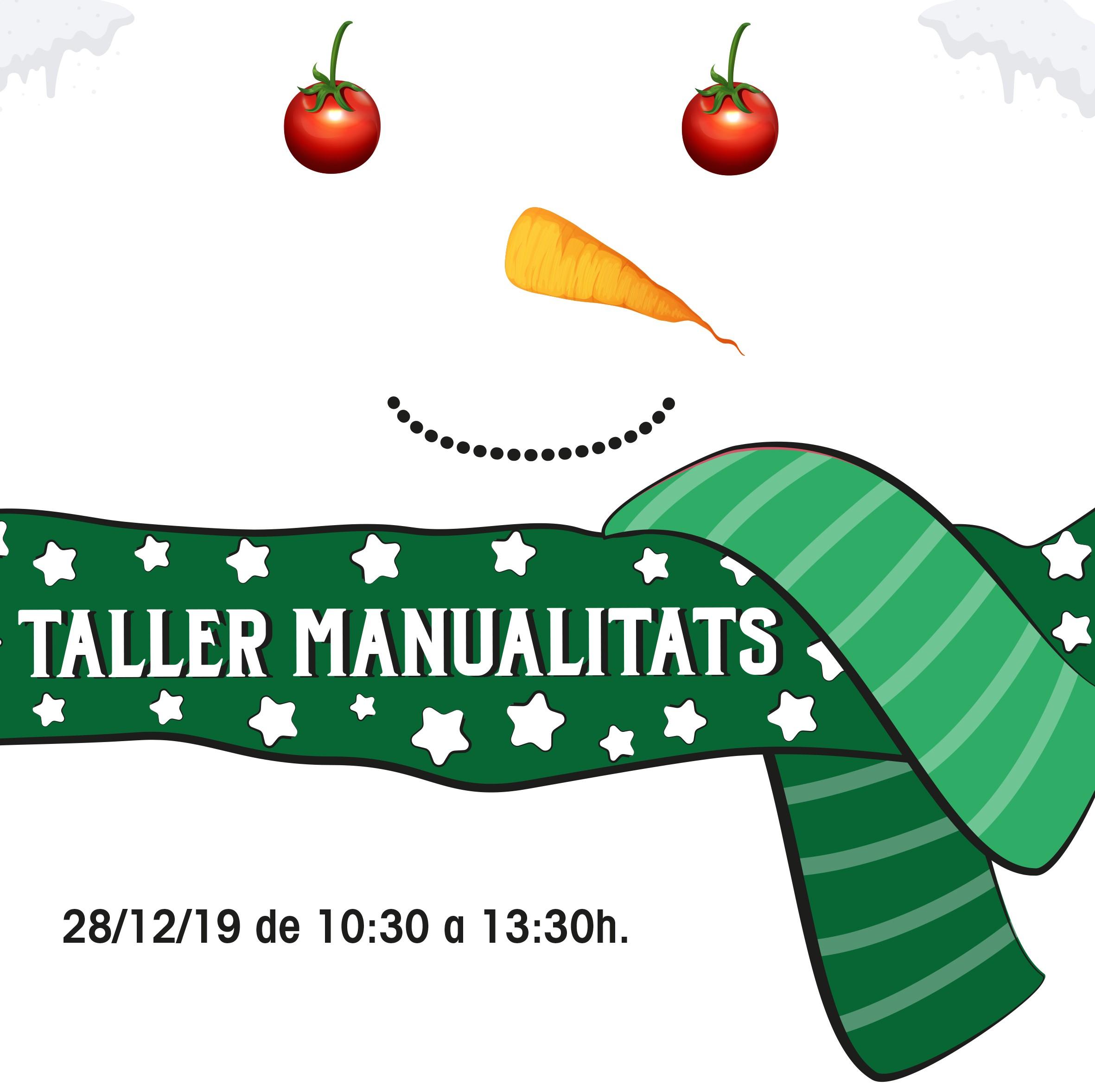 Taller gratuït de manualitats infantils 28-12-2019
