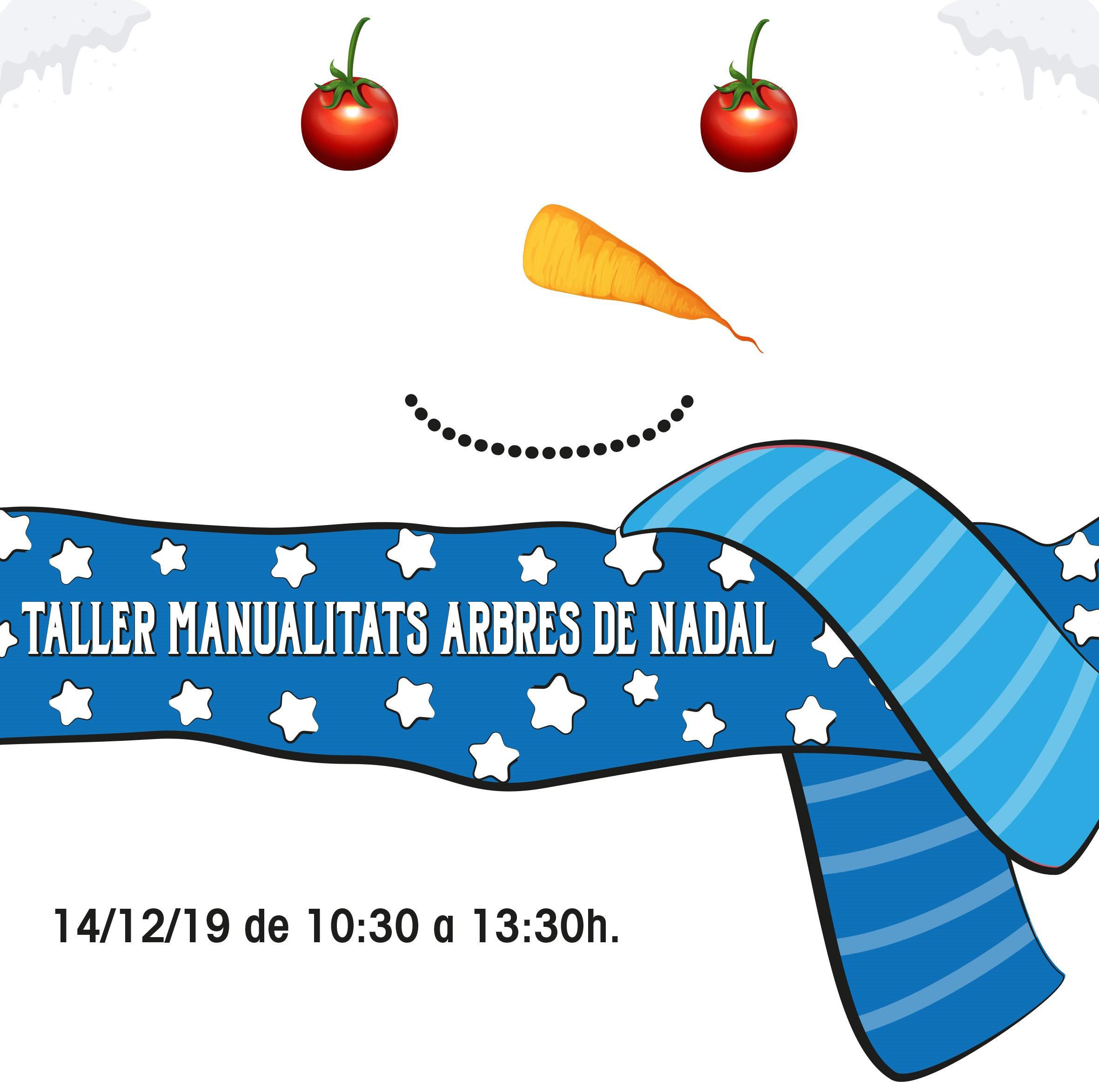 Taller gratuït de manualitats infantils 14-12-19