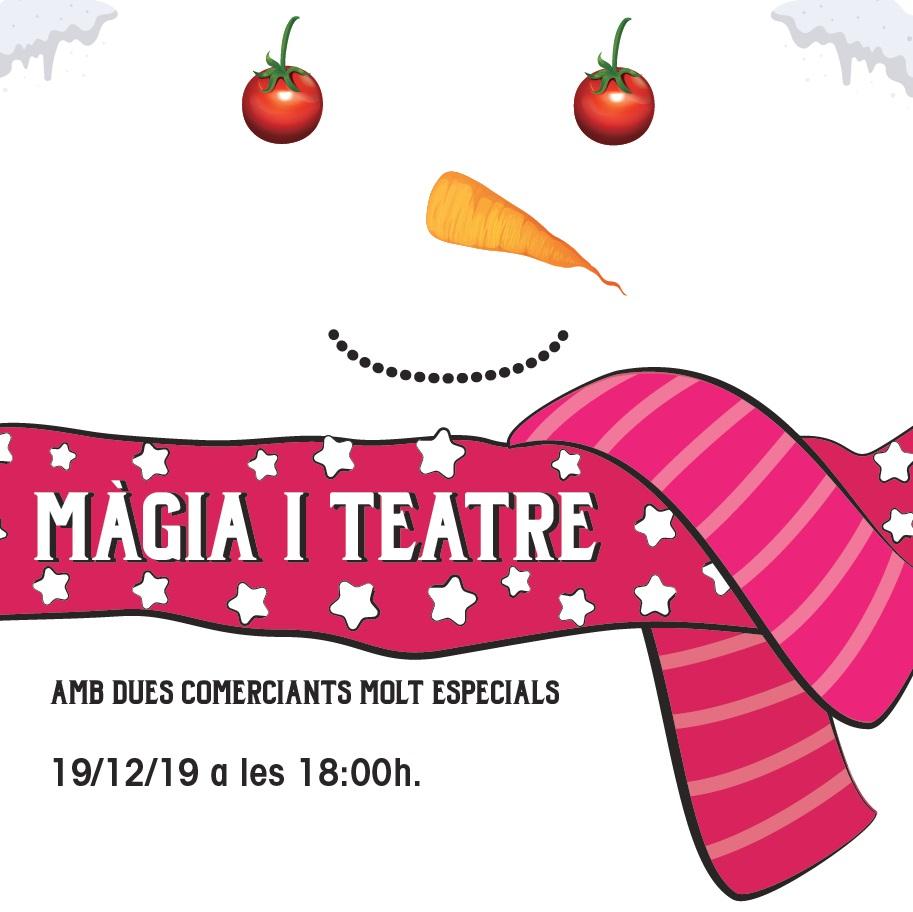La màgia i el teatre arriben al Mercat.
